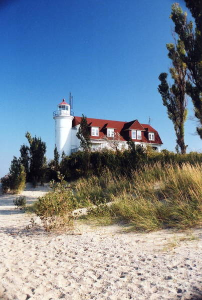 Photograph - Point Betsie Lighthouse by Crystal Nederman
