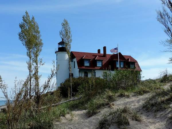Photograph - Point Betsie Lighthouse by Keith Stokes