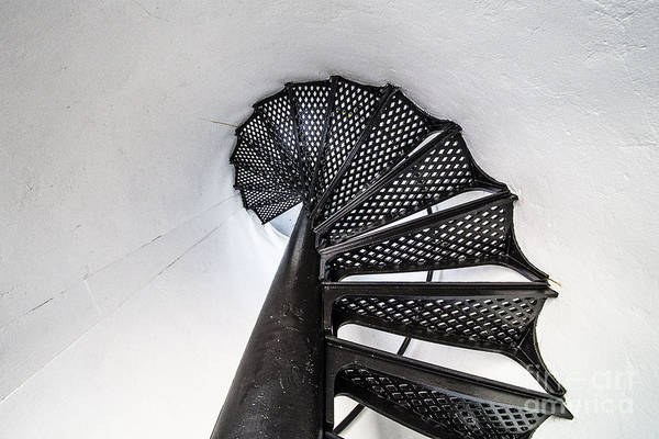 Pointe Wall Art - Photograph - Point Betsie Stairs In Black And White by Twenty Two North Photography