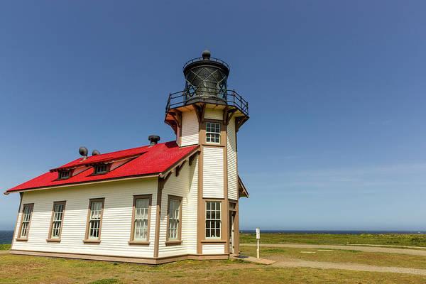 Cabrillo Photograph - Point Cabrillo Lighthouse by Chuck Haney