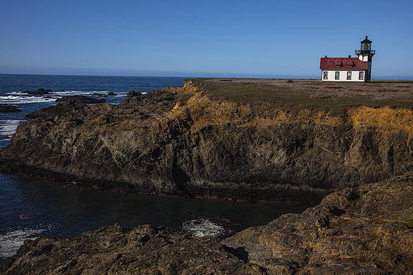 Cabrillo Photograph - Point Cabrillo Lighthouse by Garry Gay