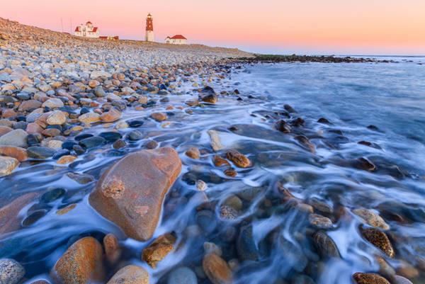 Narragansett Photograph - Point Judith Sunset by Bryan Bzdula