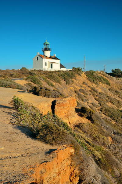 Photograph - Point Loma Light House by Songquan Deng