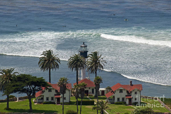 Cabrillo Photograph - Point Loma Lighthouse by Richard & Ellen Thane