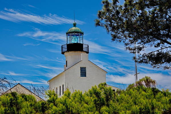 Wall Art - Photograph - Point Loma Lighthouse by Russ Harris
