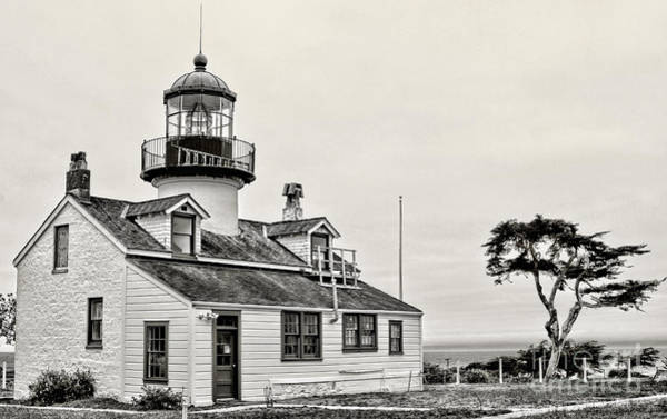 Photograph - Point Pinos Lighthouse By Diana Sainz by Diana Raquel Sainz
