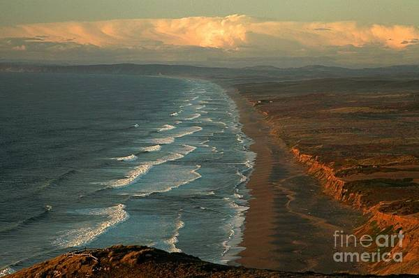 Photograph - Point Reyes Beach South by Adam Jewell