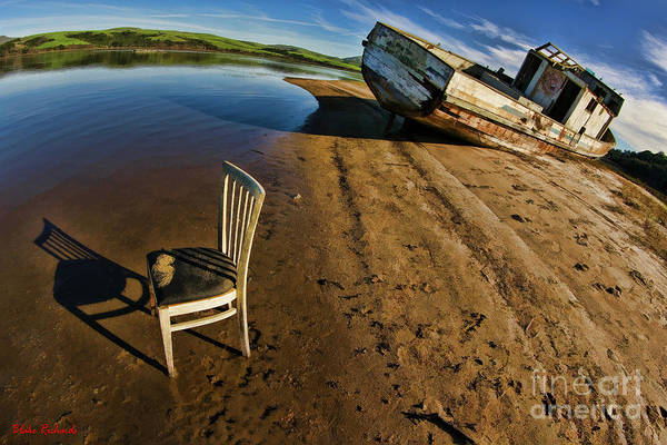 Photograph - Point Reyes Chair And Boat by Blake Richards