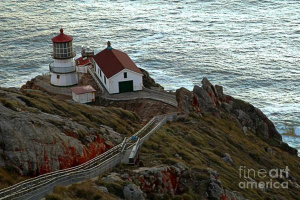 Photograph - Point Reyes Lighthouse by Adam Jewell