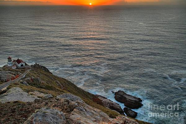 Photograph - Point Reyes Lighthouse Sunset by Adam Jewell