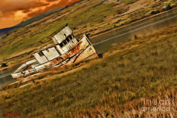 Photograph - Point Reyes Up Stream Boat by Blake Richards