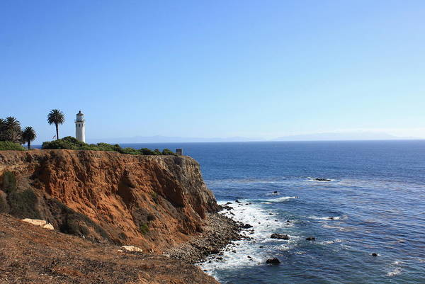 Photograph - Point Vicente Lighthouse by Daniel Schubarth