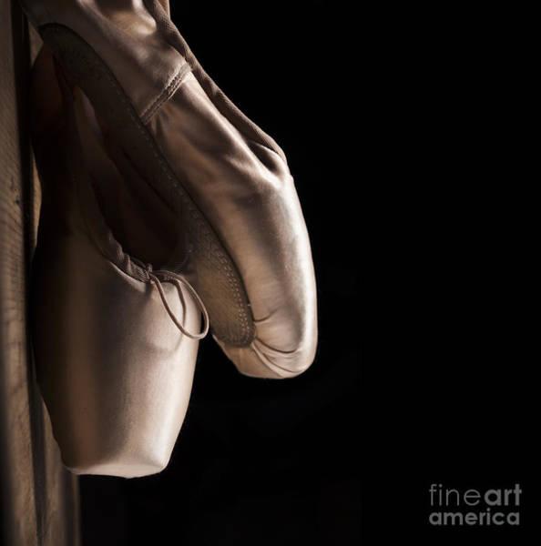 Pointe Wall Art - Pyrography - Pointe Shoes by Jelena Jovanovic