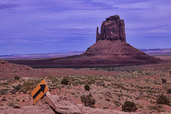 Navajo Indian Reservation Photograph - Pointing Arrow Monument Valley by Garry Gay