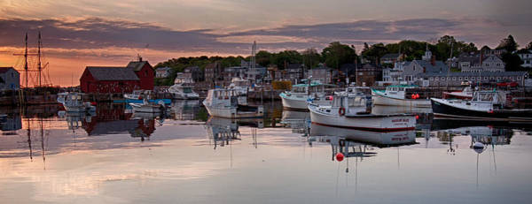 Photograph - Pointing The Way On Rockport Harbor by Jeff Folger