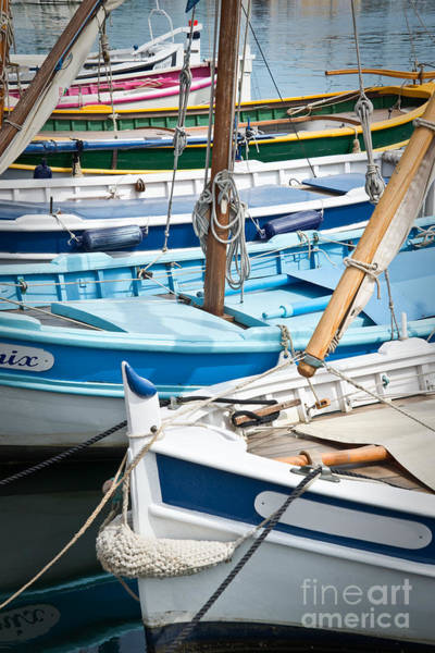 Small Boat Wall Art - Photograph - Pointus by Delphimages Photo Creations