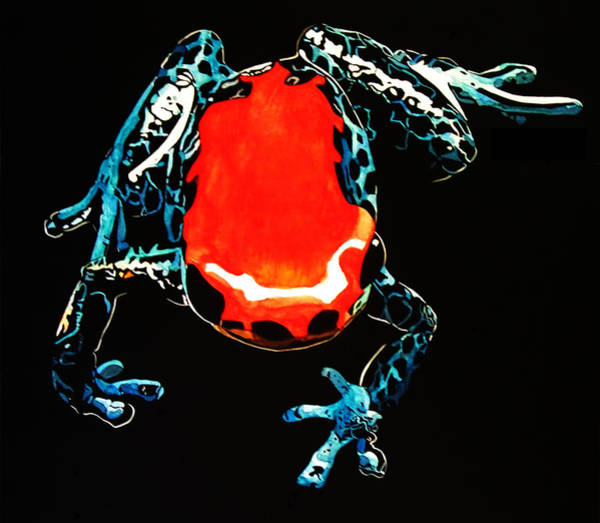 Poison Mixed Media - Poison Dart Frog by Mike Durco