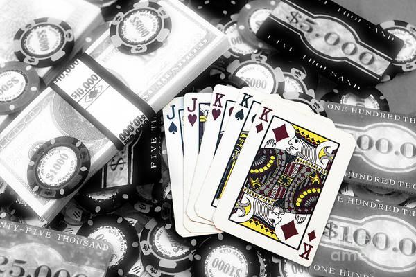 Photograph - Poker Fusion by John Rizzuto