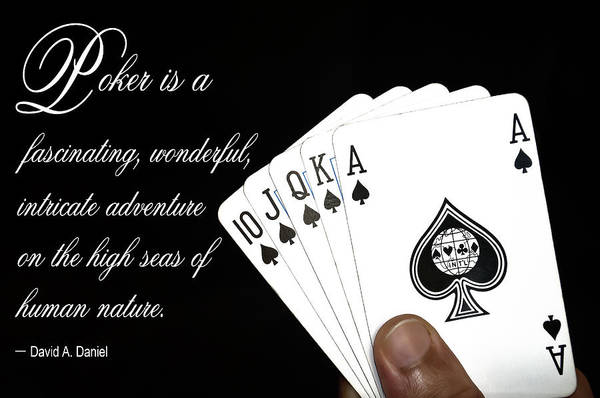 Wall Art - Digital Art - Poker Is . . . by Daniel Hagerman