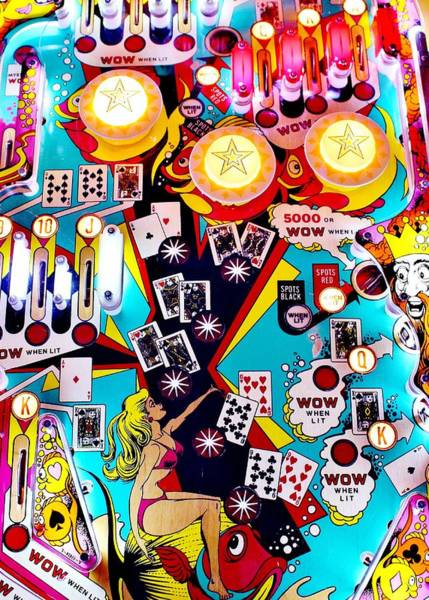 Wall Art - Photograph - Poker Playfield by Benjamin Yeager