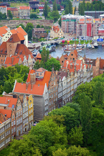 Wall Art - Photograph - Poland, Gdansk View Of Buildings by Jaynes Gallery