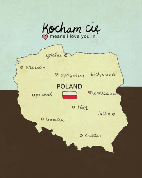 Poland Painting - Poland by Lisa Barbero