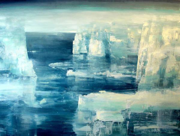 The North Sea Wall Art - Painting - Polar Bear by Charlie Baird
