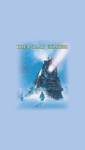 Christmas Digital Art - Polar Express - Big Train by Brand A