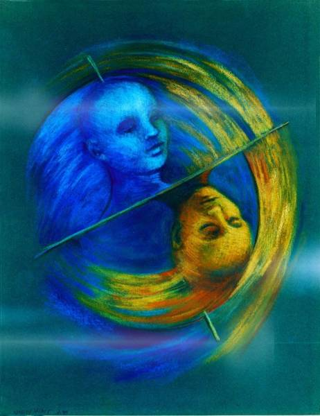 Painting - Polar Shift Number Two by Nancy Wait