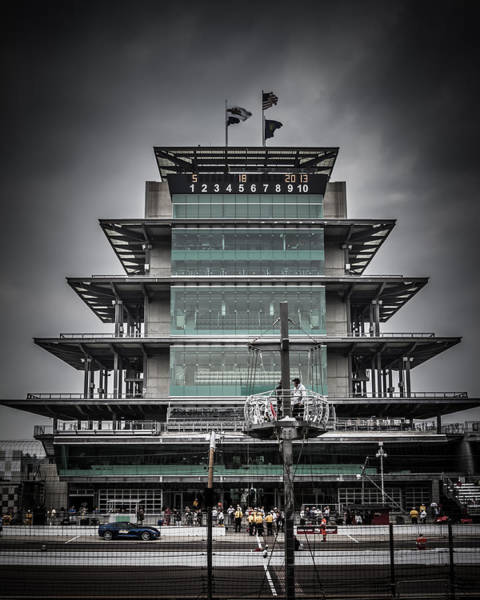 Photograph - Pole Day At The Indy 500 by Ron Pate