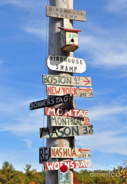 Photograph - Pole Of Many Directions by Staci Bigelow