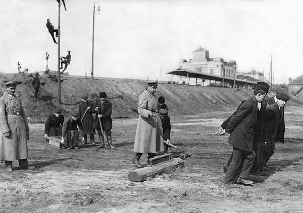 Appearance Photograph - Poles Labor For Germans by Underwood Archives