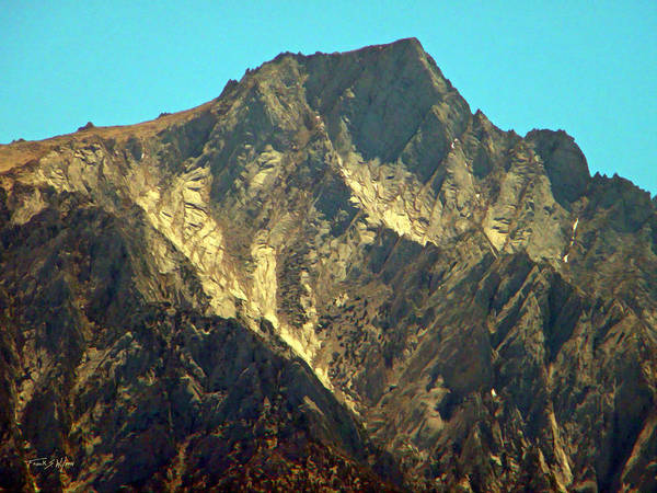 Photograph - Polished Granite Peak by Frank Wilson