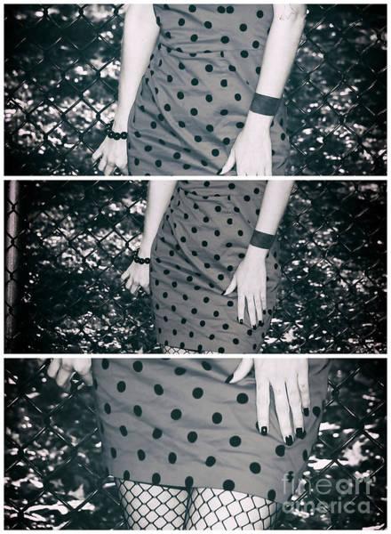 Photograph - Polka Dot Dress Panels by John Rizzuto