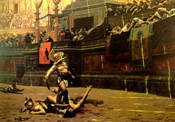 Painting - Pollice Verso  by Jean Leon Gerome