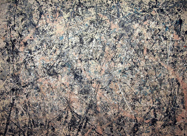 Galleries Photograph - Pollock's Number 1 -- 1950 -- Lavender Mist by Cora Wandel