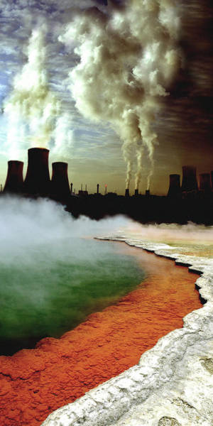 Wall Art - Photograph - Pollution by Steve Allen/science Photo Library