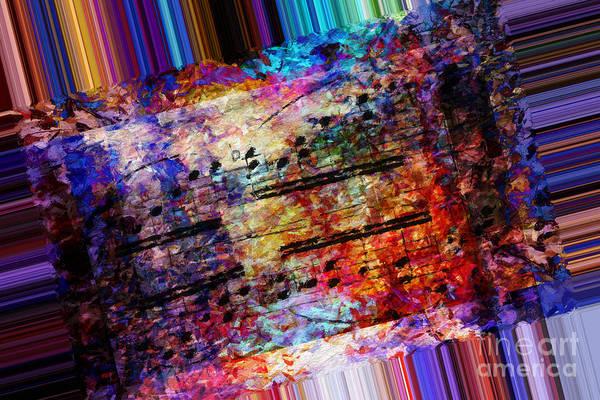 Digital Art - Polychromatic Postlude 1 by Lon Chaffin