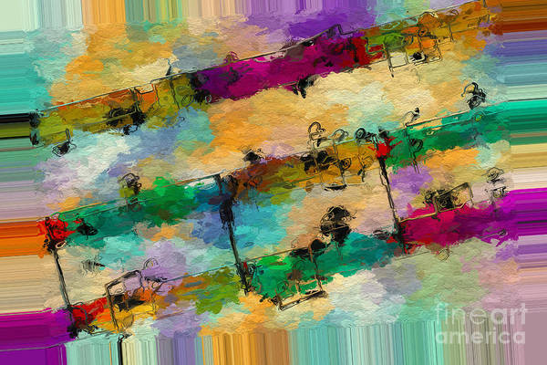 Digital Art - Polychromatic Postlude 11 by Lon Chaffin