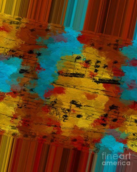 Digital Art - Polychromatic Postlude 12 by Lon Chaffin