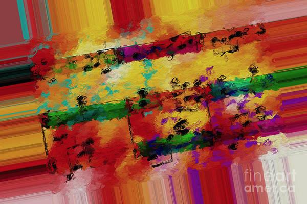 Digital Art - Polychromatic Postlude 2 by Lon Chaffin