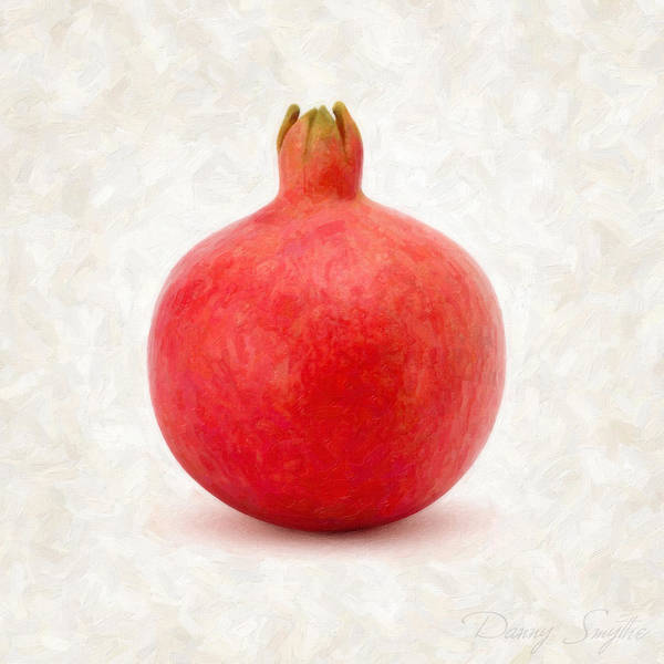 Wall Art - Painting - Pomegranate by Danny Smythe