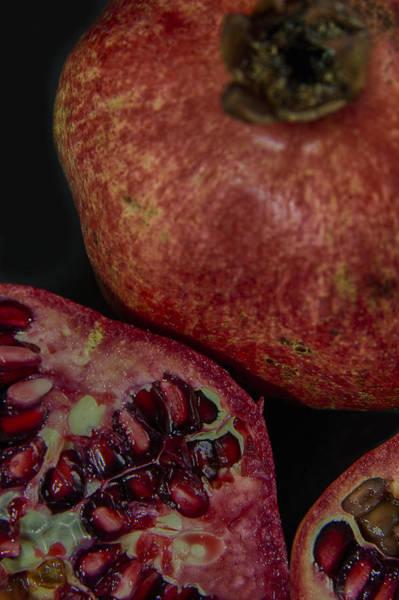 Burnt Orange Photograph - Pomegranate by Nigel Jones