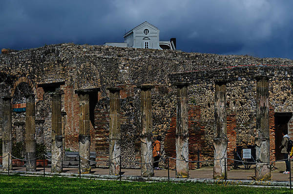 Photograph - Pompei Colonnati by Enrico Pelos
