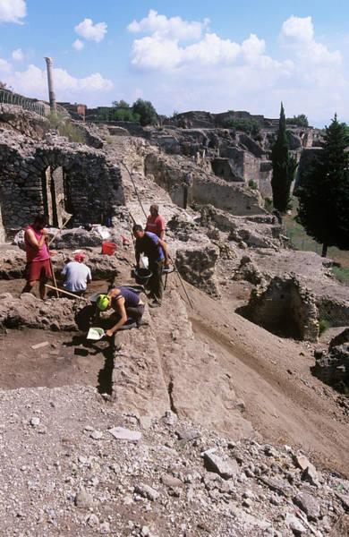 Wall Art - Photograph - Pompeii by Tony Camacho/science Photo Library