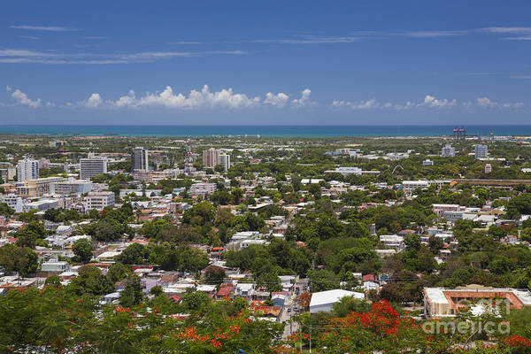 Photograph - Ponce Cityscape In Puerto Rico by Bryan Mullennix