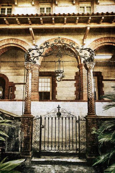 Flagler Photograph - Ponce De Leon Gateway by Renee Sullivan