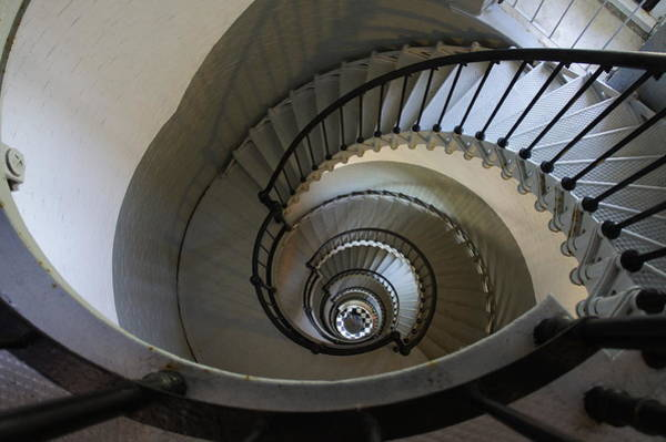Ormond Photograph - Ponce Stairs by Laurie Perry
