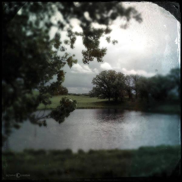 Photograph - Pond On Lake Elmo Road by Tim Nyberg