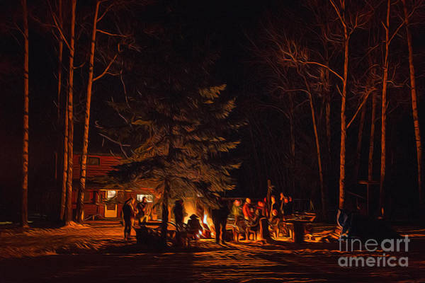 Photograph - Ponderosa Christmas '14 by Lori Dobbs